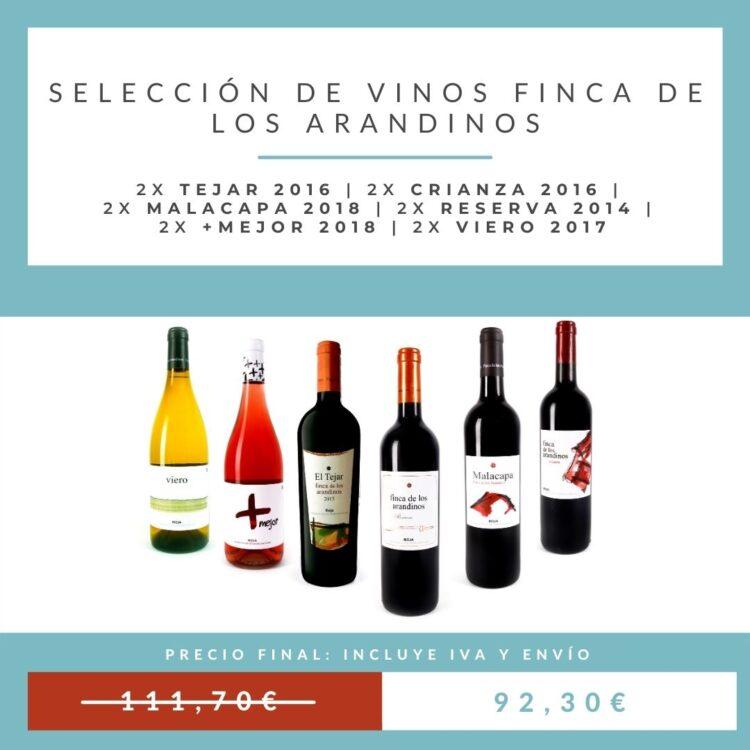 oferta vinos arandinos